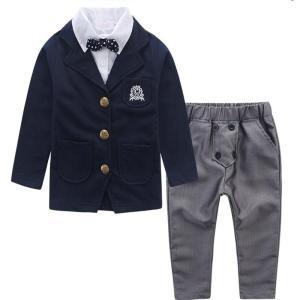 スーツ 男の子 スーツ 子供 フォーマル セットアップ 七五三 結婚式 卒業式 入学式 子供タキシー...