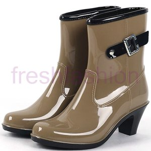 人気新品 レインシューズ レインブーツ 雨靴 長靴 レディー...