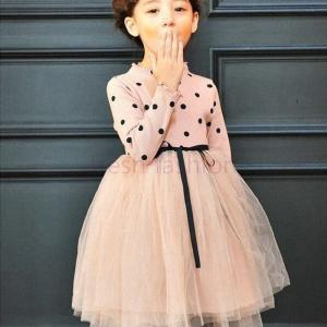 ae55b26f4df14 2017秋冬 高品質 子供ドレス 女の子 発表会 高級子供ドレス フォマール 長袖レースワンピース