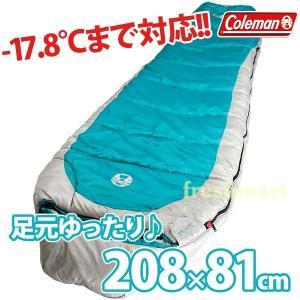 送料無料 コールマン Coleman コールドウェザー スリーピングバッグ 寝袋 -17.8℃まで対応 収納袋付き シュラフ 封筒型 冬用|freshmart
