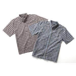 BRITISH GREEN(ブリティッシュグリーン)ギンガムチェックシャツ 2枚セット