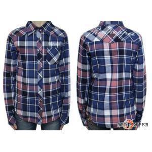 REDPEPPER (レッドペッパー) チェックシャツ...