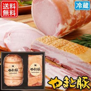 お中元 2021 自慢の逸品 セット ギフト NSG-O | [冷蔵] 送料無料 御中元 高級 ギフトセット ハム ハムギフト ロースハム ベーコン 食べ物 肉 食品 お肉|frieden-shop