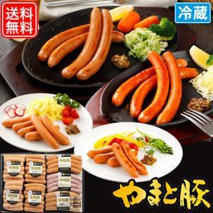 お中元 2021 ウインナー 食べ比べセット ギフト SS-40 | [冷蔵] 送料無料 御中元 高級 セット 内祝い ウィンナー ハム ソーセージ 食べ物 肉 食品 お肉|frieden-shop