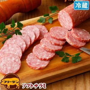ソフトサラミ170g | やまと豚 豚肉 やまと 豚 お取り寄せグルメ お取り寄せ グルメ 食品 食べ物 肉 お肉  オードブル 洋風 正月|frieden-shop