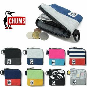 チャムス スクエアコインケース スウェットナイロン CHUMS CH60-2689 メール便対応 S...