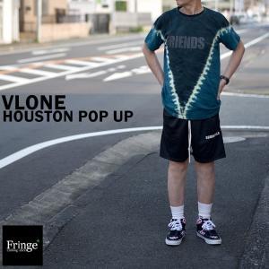 VLONE HOUSTON POP UPヴィーロン ヴィローン ヒューストンポップアップストア限定TIEDIEタイダイ TEE ASAP BARI ASAP MOBS fringe-cs