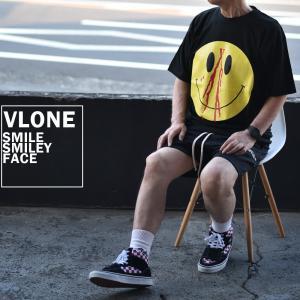 VLONE ヴィーロン ヴィローンSMILE SMILEY FACEスマイルフェイス SS TEE ASAP BARI ASAP MOBS fringe-cs