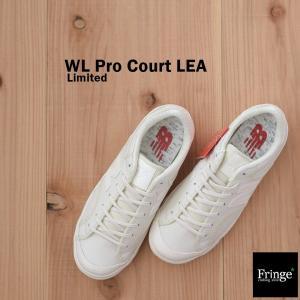 ニューバランス new balance スニーカー WL Pro Court LEA (WHITE) ホワイト