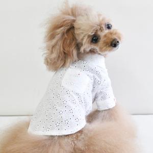Atelier des F.R.L 綿刺繍レース シャツ|frl-shop
