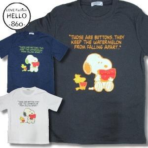 スヌーピー 半袖 Tシャツ メンズ スイカ 柄 アメカジ 吸汗速乾 再入荷 / bia309 frogberry