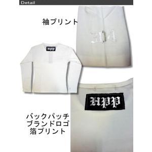 在庫処分セールpart2 メンズ 長袖 Tシャツ HPP お兄系 細身 宇宙人髑髏柄 メンズ 長袖 Tシャツ ロンTee /bia348|frogberry|05