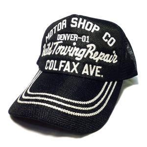アメカジ メンズ メッシュ キャップ 帽子 刺繍 英字 / bic005|frogberry