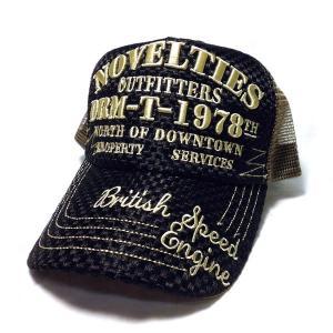 アメカジ メンズ メッシュ キャップ 帽子 刺繍 英字 アミアミ / bic008|frogberry