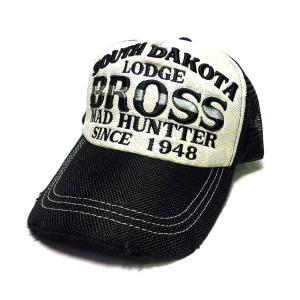 アメカジ メンズ メッシュ キャップ 帽子 刺繍 英字 アミアミ / bic011|frogberry
