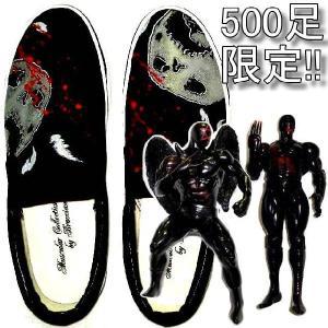 アメカジ スリッポン メンズ スニーカー キン肉マン フィギュア ブランド 靴 送料無料 /bid010|frogberry