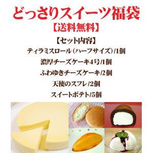 お試しセット どっさりスイーツ福袋 (送料無料) (ロールケーキ、チーズケーキ、なまどら他)|from-zao|02