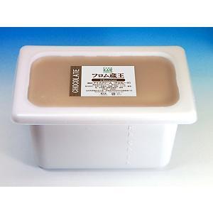 業務用アイスクリーム フロム蔵王チョコレートアイスクリーム4000ml(4リットル)|from-zao