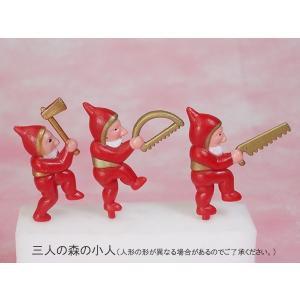 【同梱用】 単独販売不可「森の小人」飾りセット from-zao 02