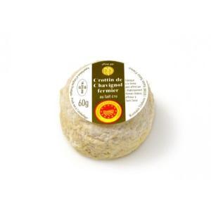 クロタン・ド・シャヴィニョルAOP ドゥミセック【山羊乳製チーズ/シェーブル/フランス】|fromage