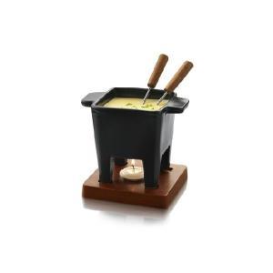 BOSKA(ボスカ社) チーズフォンデュセット2人用 ブラック|fromage