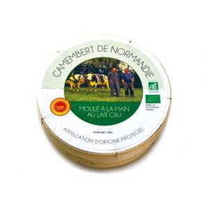 カマンベール・ド・ノルマンディ オーガニック【白カビタイプチーズ/フランス】|fromage