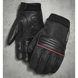 ハーレーダビッドソン グローブ  Harley Davidson   Men's Plexus Mesh & Leather Gloves|fromla