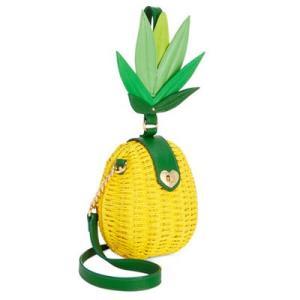 ベッツィージョンソン ショルダーバッグ Betsey Johnson  Pineapple Small Crossbody (Yellow) パイナップル スモール クロスボディ(イエロー) fromla