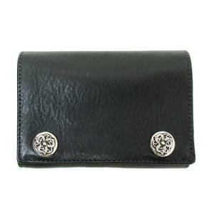クロムハーツ 財布 ウォレット 3フォールド レザー ウォレ...