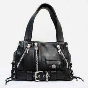 【Chrome Hearts】 クロムハーツ バッグ CH Plain JJDean Bag プレインJJディーンバッグ(ブラック) 本物 正規品 アメリカ買付 USA直輸入