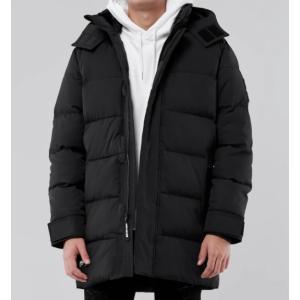 ホリスター Hollister メンズ  ジャケット/アウター ★6747 Hooded Puffer Jacket ブラック|fromla