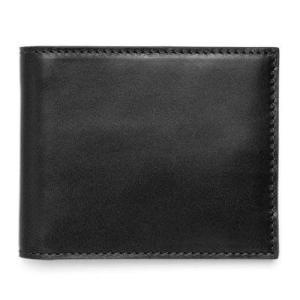 ジャックスペード ウォレット レザー 財布 JACK SPADE Mill Leather Bill Holder (ブラック)|fromla