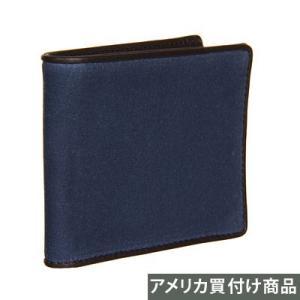 ★ジャックスペード メンズ ビルホルダー JACK SPADE Waxwear Bill Holder (ダークデニム)|fromla