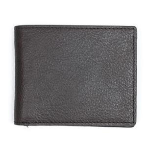 ★ジャックスペード メンズ ビルホルダー JACK SPADE Grain Leather Bill Holder (ブラック)|fromla