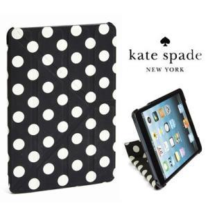 ケイトスペード Kate Spade iPadケース le pavillion ipad origami case 8ARU0456 オリガミ iPad2/iPad3/iPad4 ケース(ブラック/クリーム)|fromla