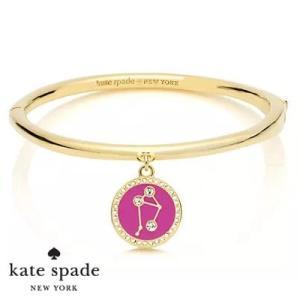 ケイトスペード Kate Spade ブレスレット/バングル  in the stars libra bangle (Gold)  てんびん座 星座 バングル(ゴールド)  12星座 ブランド|fromla