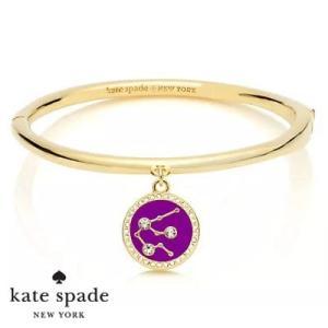 ケイトスペード Kate Spade ブレスレット/バングル in the stars aquarius bangle (Gold)  みずがめ座 星座 バングル(ゴールド)  12星座 ブランド|fromla