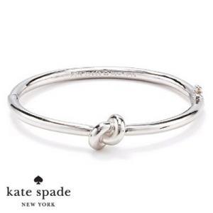 ケイトスペード Kate Spade ブレスレット/バングル  sailor's knot hinge bangle (Silver)  セイラーズ ノット バングル(シルバー)  ブランド|fromla