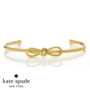 ケイトスペード Kate Spade ブレスレット/バングル dainty sparklers bow cuff (Gold) パヴェ ボウ カフ(ゴールド) リボン ブランド|fromla