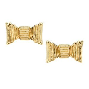 ケイトスペード ピアス Kate Spade wbrue845 all wrapped up studs (GOLD) ボウ リボン ピアス (ゴールド)|fromla