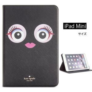 ケイトスペード iPadケース ● Kate Spade  Monster Eyes iPad Mini Air 4 Case (Black Multi) モンスター iPadミニ ケース (ブラック)|fromla