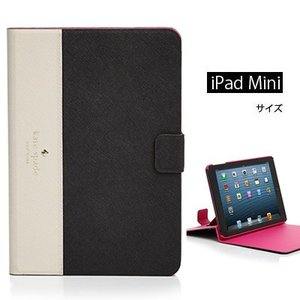ケイトスペード Kate Spade iPadケース Cedar Street iPad Mini Case(Black/Pebble) シダーストリート iPadミニケース(ブラック/ぺブル)|fromla