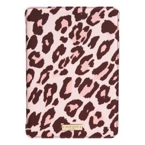 ケイトスペード Kate Spade iPadケース leopard print iPad Air 2 hardcase folio レオパード プリント iPadAir2ケース(ペストリーピンク)|fromla