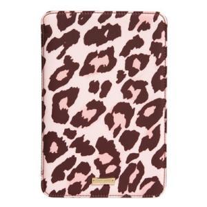 ケイトスペード Kate Spade iPadケース leopard print iPad mini hardcase folio レオパード プリント iPad miniケース(ペストリーピンク)|fromla