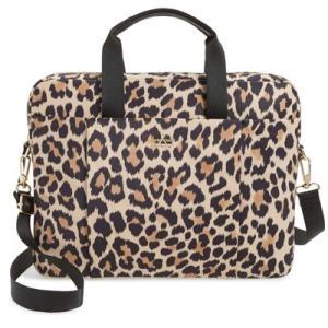 ケイトスペード ノートパソコンバッグ Kate Spade 8aru2119 leopard laptop commuter bag レオパード ラップトップ バッグ (マルチ)|fromla