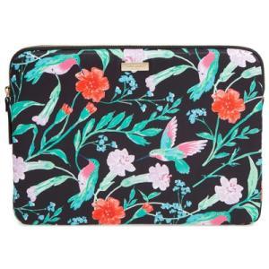 ケイトスペード ノートパソコンケース Kate Spade cameron street jardin 13-inch laptop sleeve ラップトップスリーブ 13インチ(ブラックマルチ)|fromla
