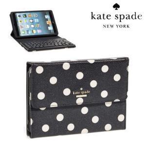ケイトスペード Kate Spade iPadケース cedar street dot iPad mini keyboard case シダー ストリート ドット iPad ミニ キーボード付き ケース(マルチ)|fromla