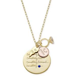 ケイトスペード ネックレス Kate Spade  Gold-Tone Tie-The-Knot Charm Pendant Necklace(Gold)チャーム ペンダント ネックレス (ゴールド) fromla