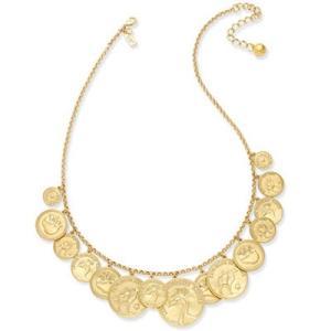 ケイトスペード ネックレス Kate Spade wbrud904 flip a coin necklace(Gold)コイン ネックレス (ゴールド) fromla
