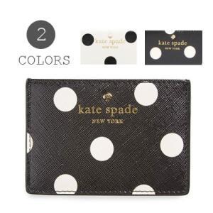 ケイトスペード Kate Spade  カードケース cedar street card holder シダーストリート ドット カードフォルダー(全2色)|fromla